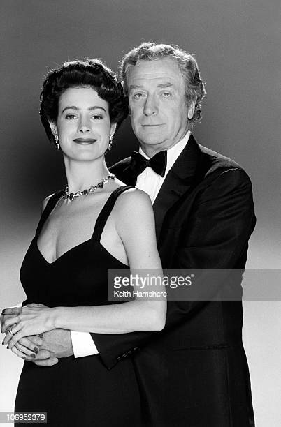 American actress Sean Young stars with English actor Michael Caine in the film 'Blue Ice' 1992