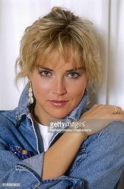 American Actress Sharon Stone Sharon Stone