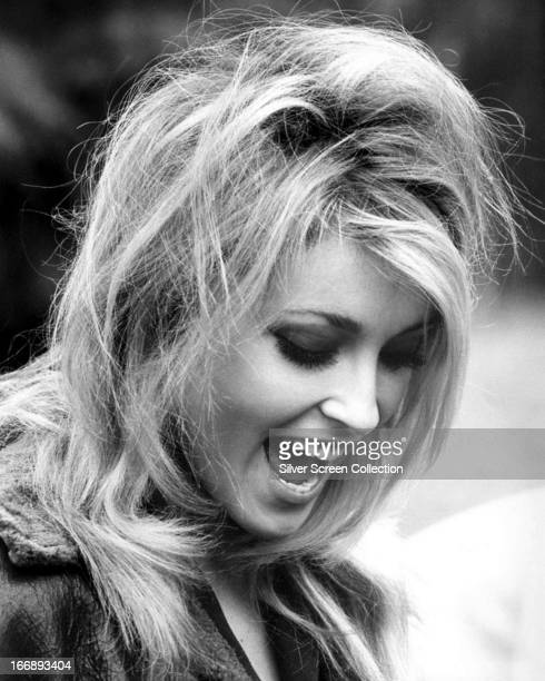 American actress Sharon Tate circa 1968