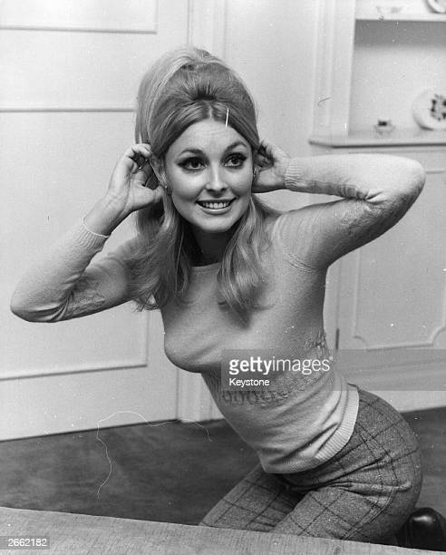 American actress Sharon Tate second wife of film director Roman Polanski in London She was murdered by followers of Charles Manson the notorious...