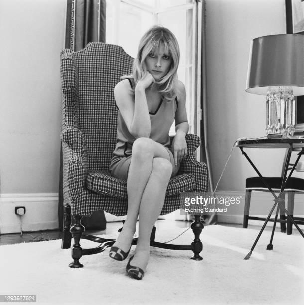 American actress Sharon Tate , UK, 17th May 1966.
