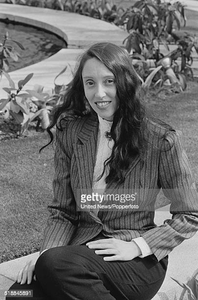 American actress Shelley Duvall, who plays Olive Oyl in the film Popeye, in London on 8th April 1981.