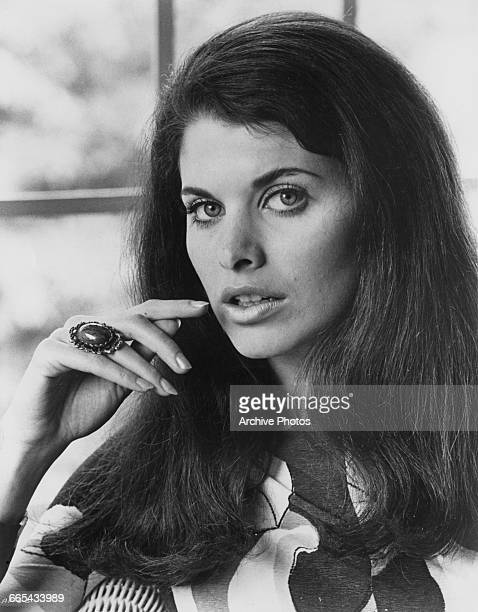 American actress Sherry Lansing in a publicity still for the film 'The April Fools', USA, 1969. She plays a party guest in an uncredited role. She...