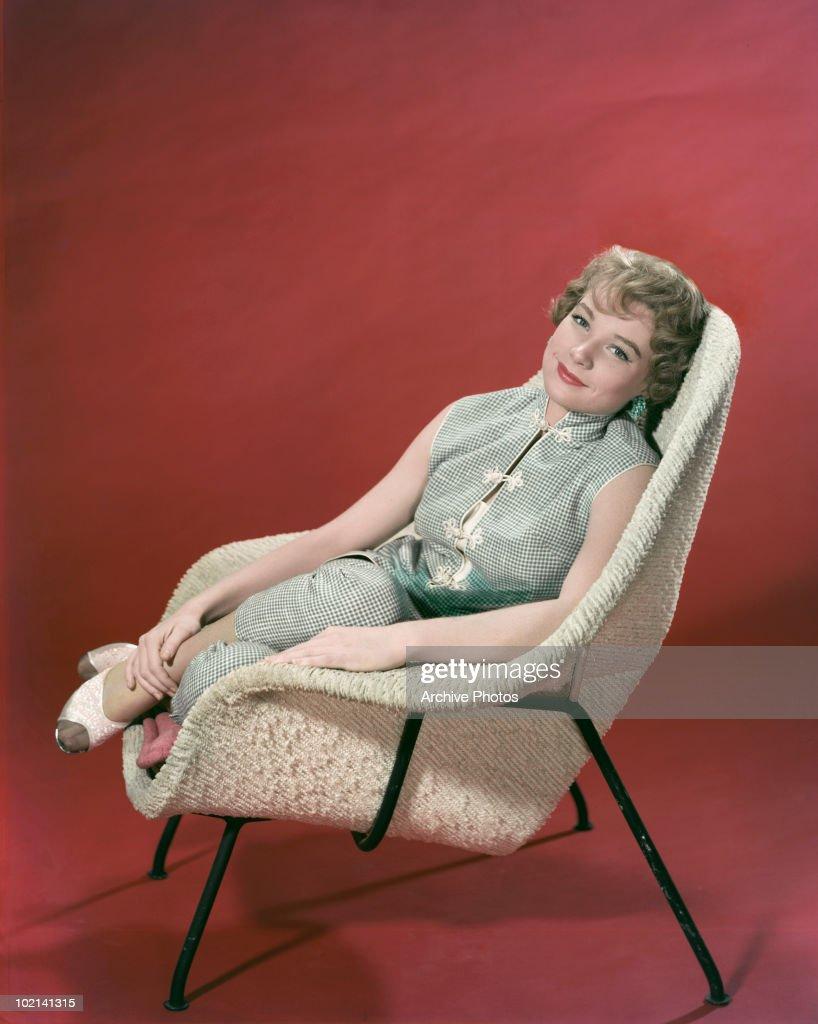 American actress Shirley MacLaine, circa 1955.