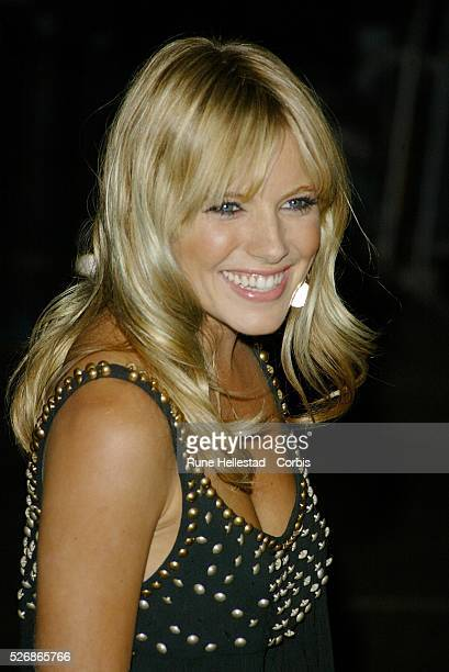 American actress Sienna Miller arrives at the world premiere of Matthew Vaughn's movie 'Layer Cake' at the Electric Cinema in Notting Hill