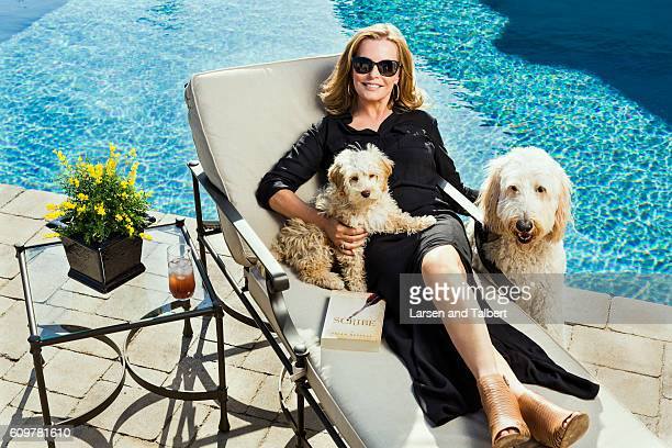 American actress singer and author Cheryl Ladd is photographed in her home for People Magazine on March 10 2016 in Boerne Texas