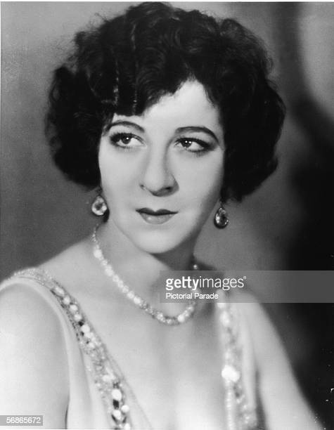 American actress singer and comedian Fanny Brice poses for a headshot portrait 1920s