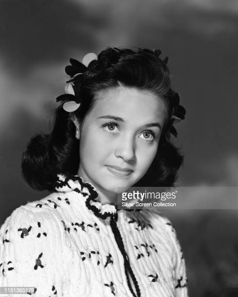 American actress singer and dancer Jane Powell circa 1950