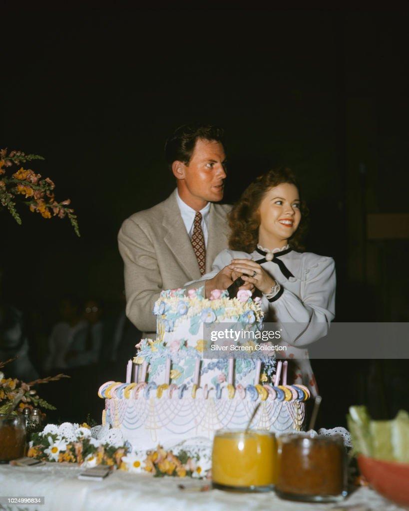 Shirley Temple Wedding John Agar