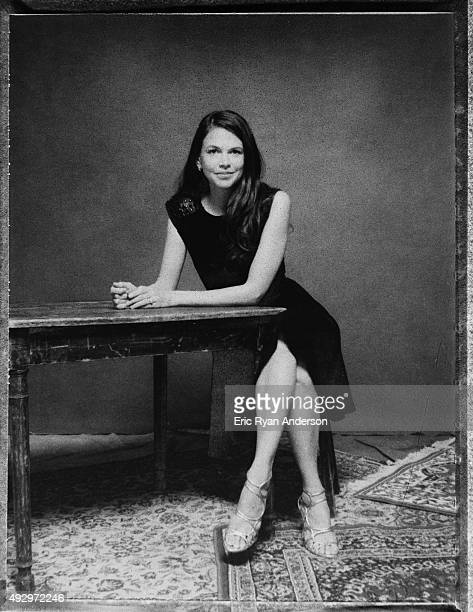 American actress singer and dancer Sutton Foster is photographed for The Hollywood Reporter on May 7 2014 in New York City PUBLISHED IMAGE