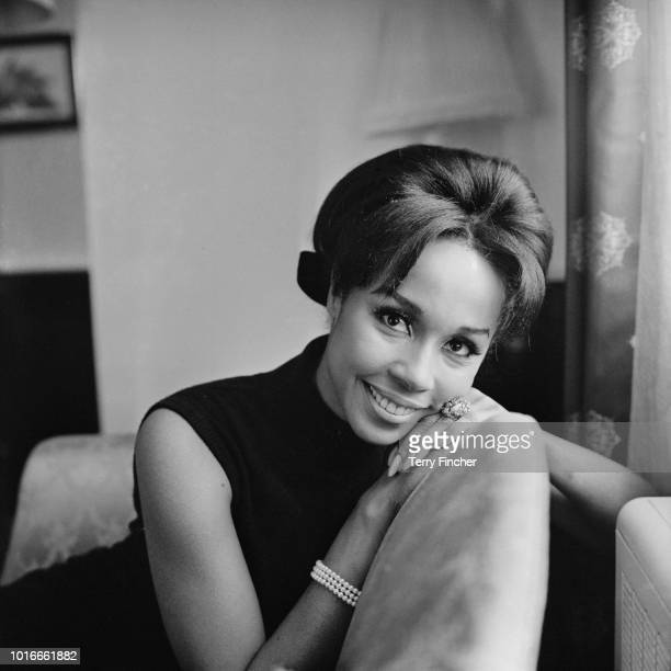 American actress singer and fashion model Diahann Carroll UK 18th January 1965