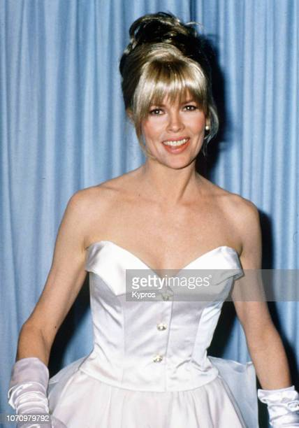 American actress, singer and former fashion model Kim Basinger at the 63rd Annual Academy Awards at Shrine Auditorium in Los Angeles, California, US,...