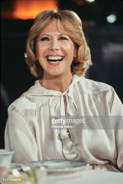 American actress, singer, and television personality Dinah Shore, New York, New York, 1980.