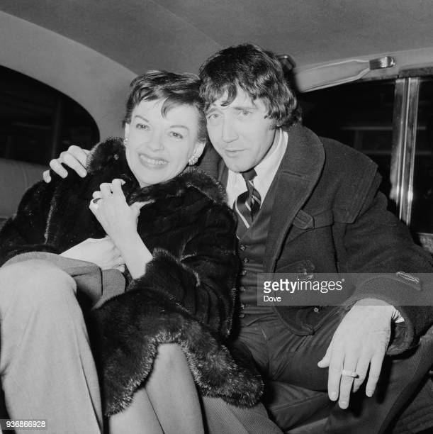 American actress singer and vaudevillian Judy Garland and her fiance American musician and entrepreneur Mickey Deans UK 28th December 1968