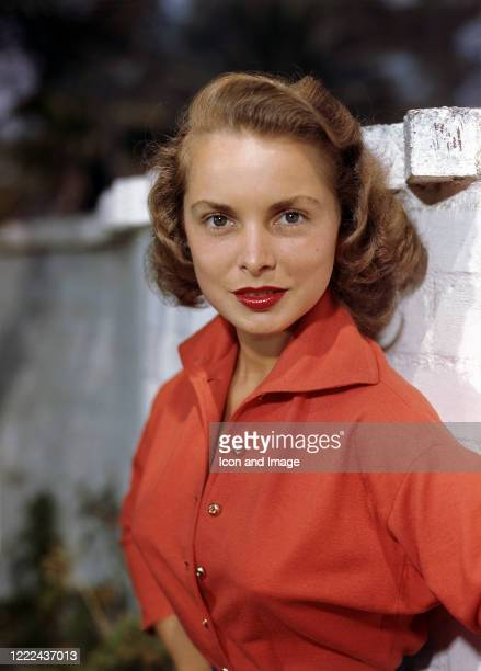 American actress, singer, dancer, and author, Janet Leigh poses for a portrait, circa 1955 in Los Angeles, CA.