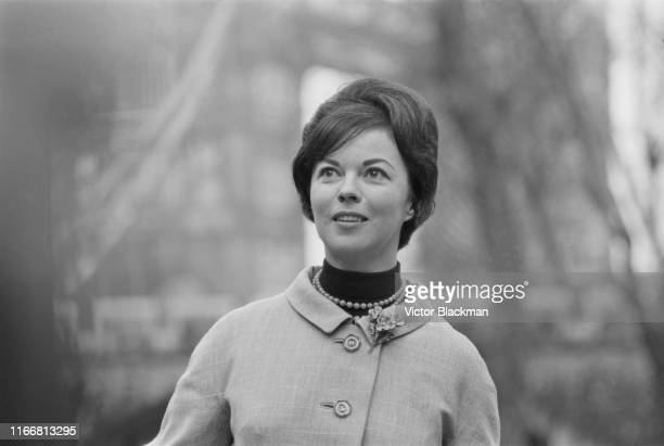 American actress singer dancer businesswoman and diplomat Shirley Temple visits the Tower of London UK 15th March 1965