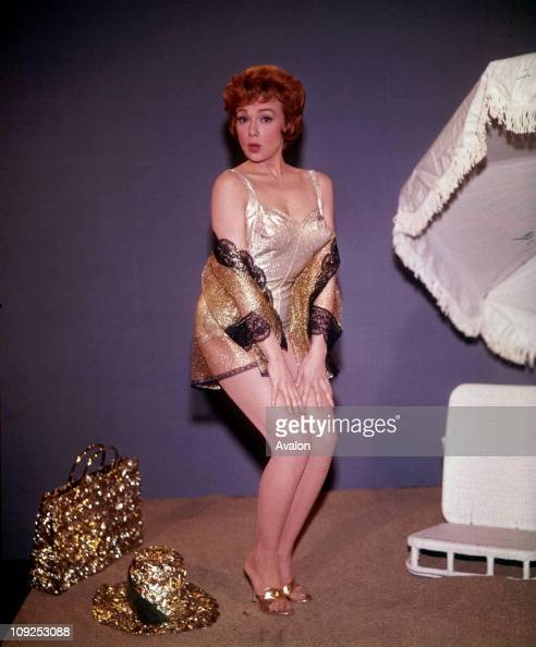 American Actress & Singer Edie Adams, . News Photo