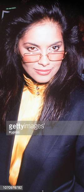 American actress singer former model and talent manager Apollonia Kotero circa 1990