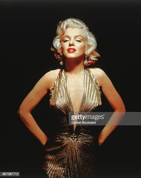 American actress singer model and sex symbol Marilyn Monroe