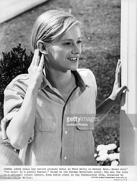 Sondra Locke touching her hair in a scene from the film 'The Heart Is A Lonely Hunter' 1968