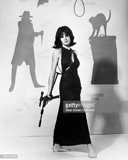 American actress Stefanie Powers as April Dancer in the US television series 'The Girl from UNCLE' circa 1967