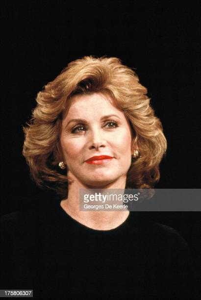 American actress Stefanie Powers at Wyndham's Theatre on September 26 1990 in London England