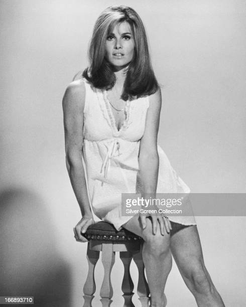 American actress Stefanie Powers circa 1970