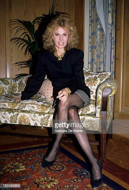 American actress Stefanie Powers in the UK 15th March 1988