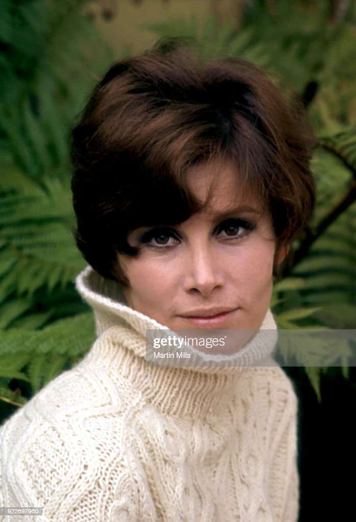 American actress Stephanie Powers poses for a portrait in 1967 in Los Angeles, California.