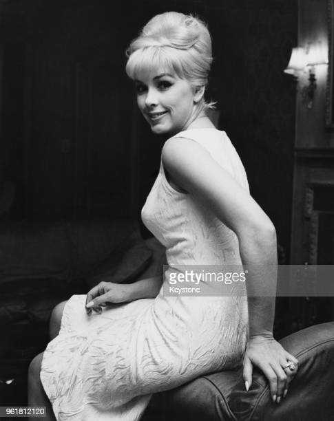 American actress Stella Stevens in London 17th November 1964