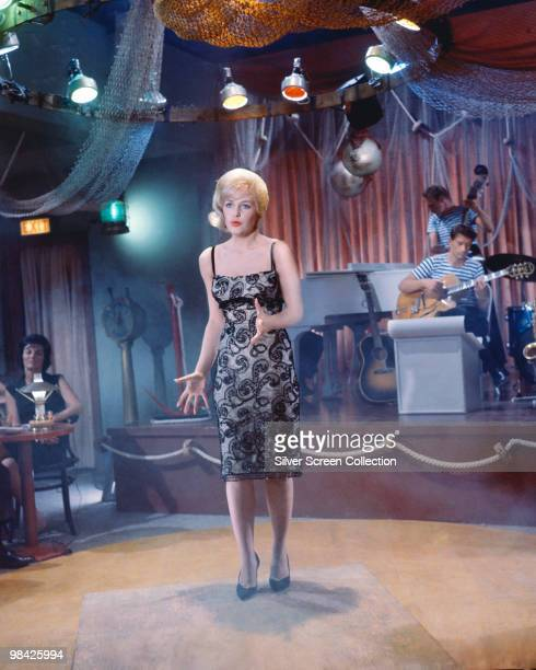 American actress Stella Stevens plays a nightclub singer in 'Girls Girls Girls' 1962