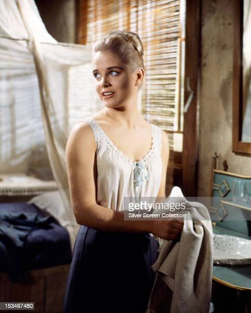 American actress Sue Lyon as Emma Clark in '7 Women' directed by John Ford 1966