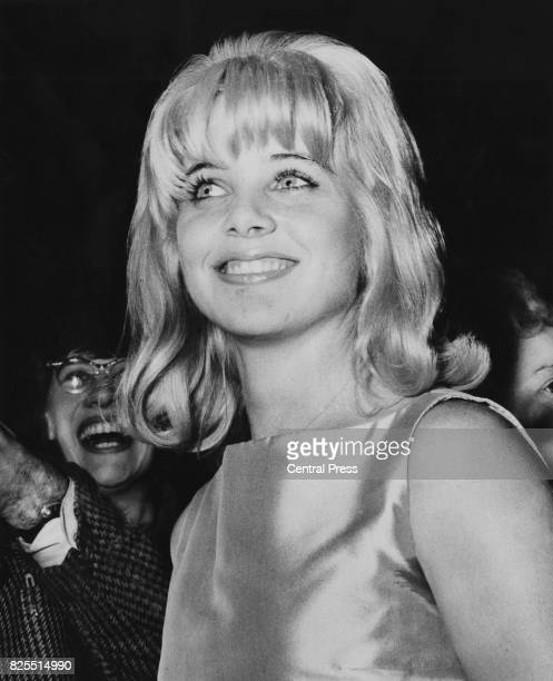 American actress Sue Lyon at the premiere of the film 'Lolita' at the Columbia Theatre in London 6th September 1962 She plays the title role in the...