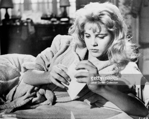 American actress Sue Lyon in a scene from the film 'Lolita' 1962