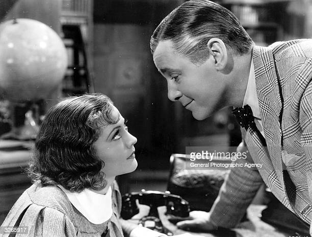 American actress Sylvia Sidney and British actor Herbert Marshall star in 'Accent On Youth.' Title: Accent On Youth Studio: Paramount Director:...
