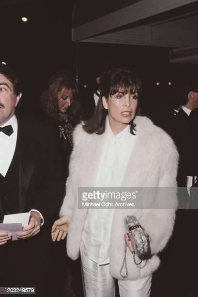American actress Talia Shire, 1986.
