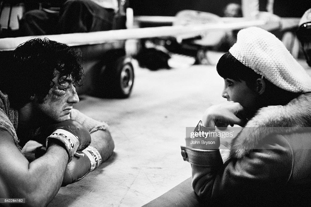 Set of Rocky II : News Photo