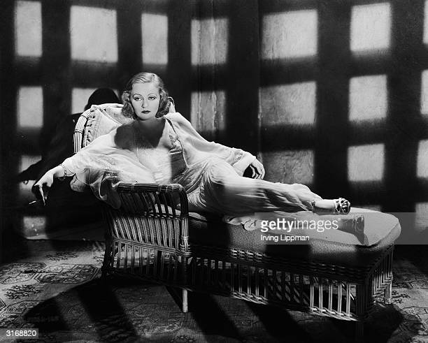 American actress Tallulah Bankhead who made her name as a stage actress and won a New York Drama Critics' Circle Award for her performance in The...