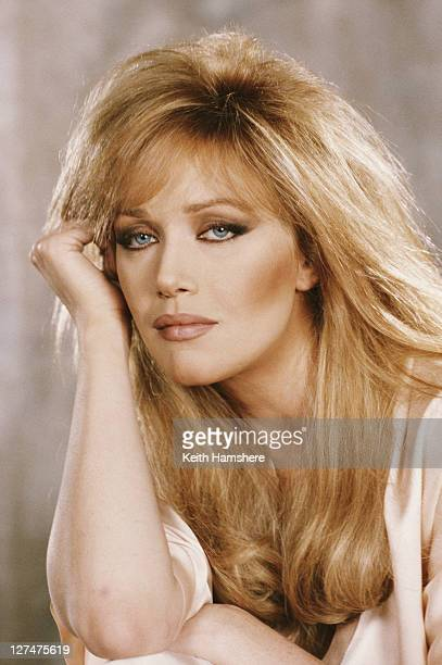 American actress Tanya Roberts stars as Stacey Sutton in the James Bond film 'A View To A Kill' 1984