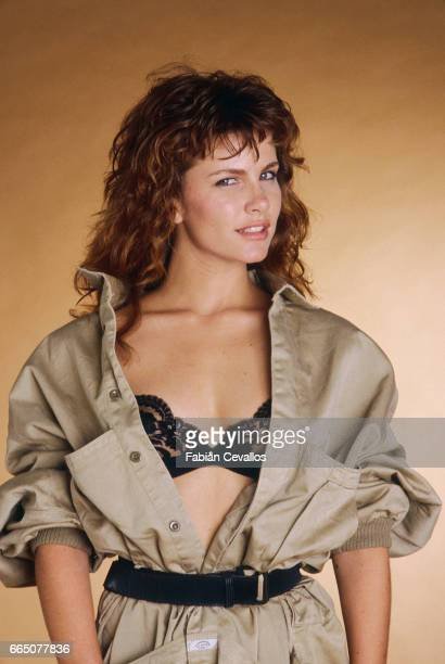 American actress Tawny Kitaen appears as the title role in the film Gwendoline by French director Just Jaeckin
