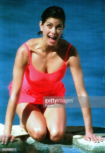 American actress Teri Hatcher circa 1990