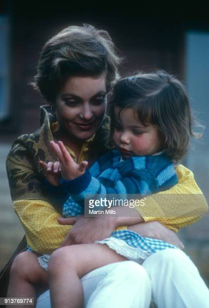 American actress Tisha Sterling poses for a portrait with her daughter Heidi Bates Hogan circa January 1968