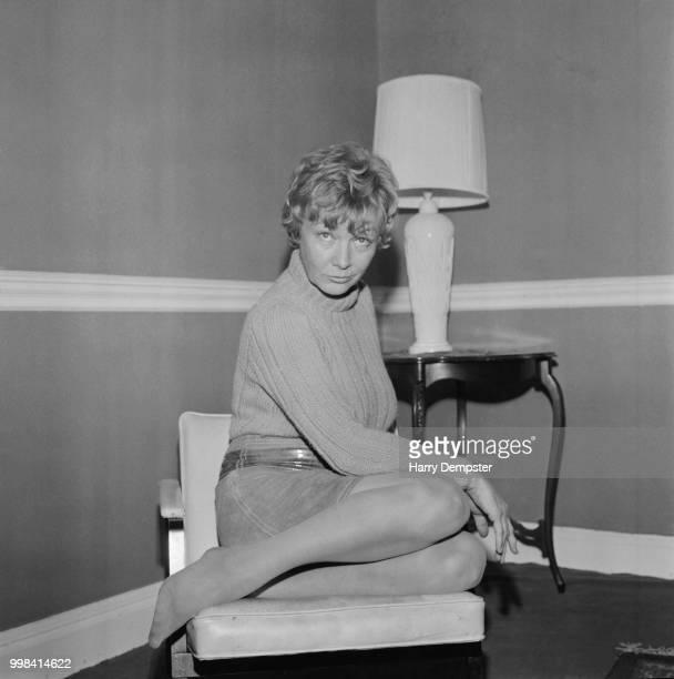 American actress Veronica Lake UK 25th April 1969