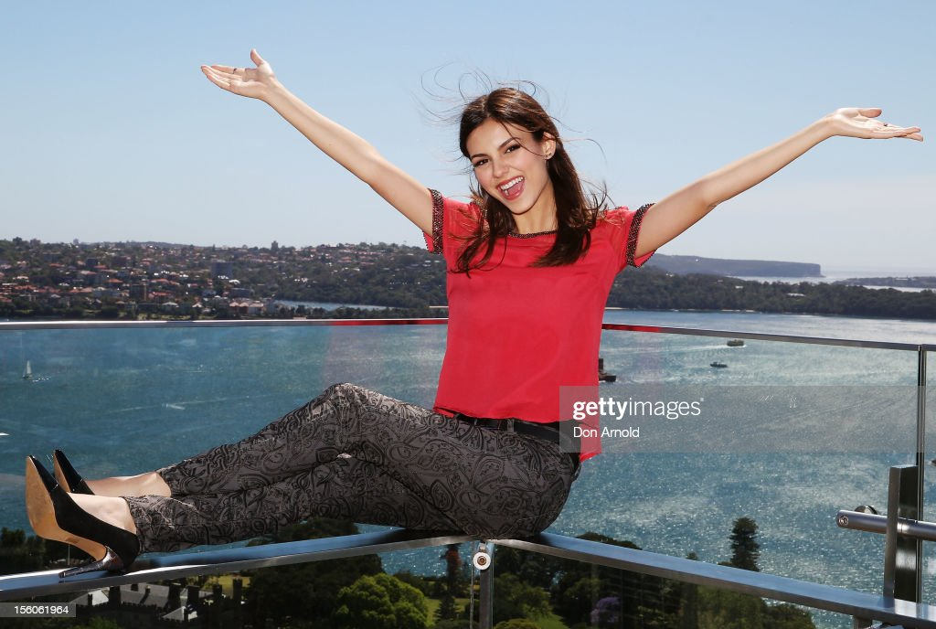Victoria Justice Sydney Photo Call