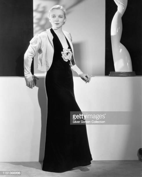 American actress Virginia Bruce circa 1935