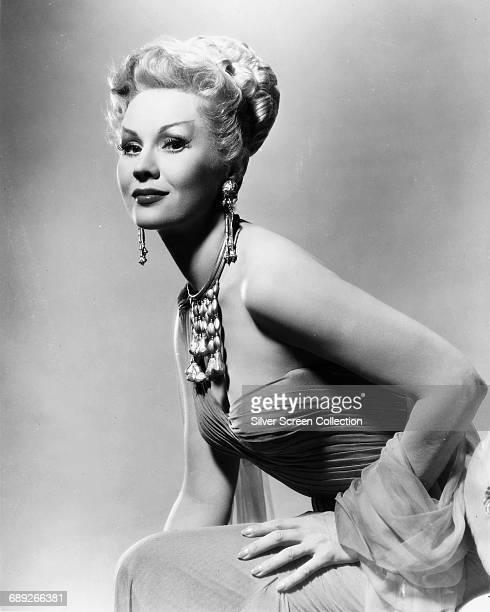 American actress Virginia Mayo circa 1955