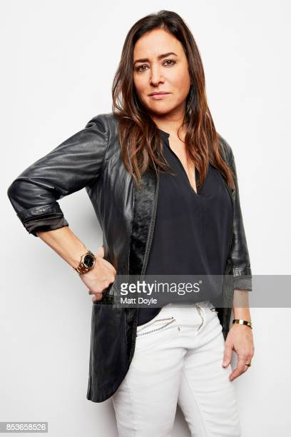 American actress voice actress screenwriter producer and director Pamela Adlon poses for a portraits at the Tribeca TV festival at Cinepolis Chelsea...