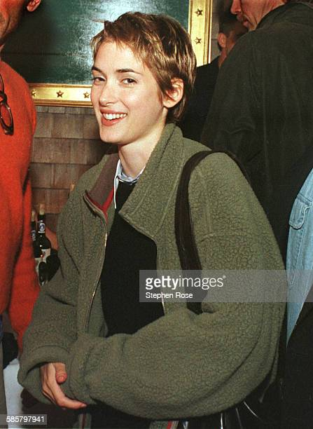 American actress Winona Ryder at the Nantucket Film Festival on Nantucket, Massachusetts, after reading the movie script 'Unknown Citizen' by Nicole...