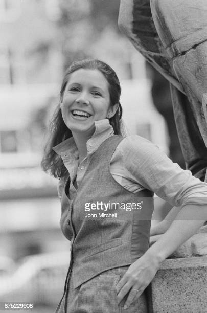 American actress writer and humorist Carrie Fisher 28th September 1977