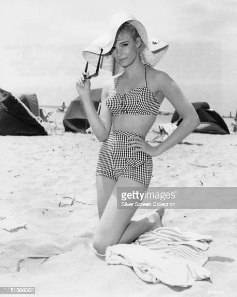 American actress Yvette Mimieux as Melanie Tolman in a publicity still for the film 'Where the Boys Are' 1960